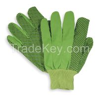 CONDOR 2RA13 D1412 Glove Cotton S Hi Vis Lime Grn PR