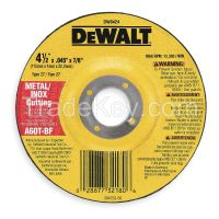 DEWALT- DW8424 Depressed Ctr Wheel T27 4.5x0.045x7/8 AO