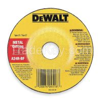 DEWALT- DWA4511  Depressed Center Whl, T27, 4.5x1/8x7/8, AO