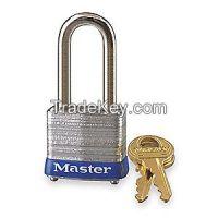MASTER LOCK 7LF  Padlock KD 1-1/2 In H 4 Pin Steel