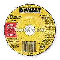 DEWALT- DW4514 Depressed Center Whl, T27, 4.5x1/4x7/8, AO