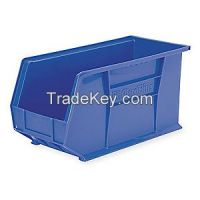 AKRO-MILS 30265BLUE F8694 Hang/Stack Bin H 9 W 8 1/4 D 18 Blue
