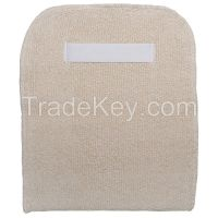 CONDOR 4JD55 Bakers Pad White Terry Cloth