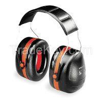 H10A Ear Muff 30dB Over-the-Head Black/Orange