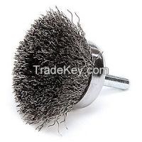 WEILER 14301 Crimped Wire Cup Brush Stem 1-3/4 In.