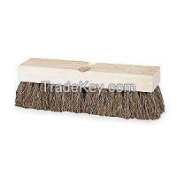 TOUGH GUY 3H381  Deck Scrub Brush 10 in Block 2 in Trim