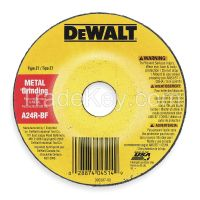 DEWALT-  DW4419 Depressed Center Wheel, T27,4x1/4x5/8, AO