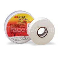 SCOTCH 3534X66WHITE Electrical Tape 3/4 x 66 ft 7 mil White