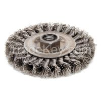 WEILER 13120 Twist Wire Wheel Brush Threaded