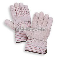 CONDOR 4YV44 D1567 Leather Gloves Safety L PR