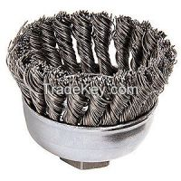 WEILER 13286 Knot Wire Cup Brush Threaded