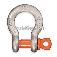 CM MC650G Anchor Shackle, Screw Pin, 4000 lb.