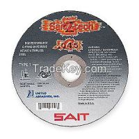 UNITED ABRASIVES-SAIT 23324 Abrasive Cut-Off Wheel, 4-1/2 in. dia.