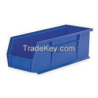 AKRO-MILS 30234BLUE F8659 Hang/Stack Bin 14-3/4 x 5-1/2 x 5 Blue