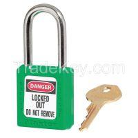 MASTER LOCK 410GRN  D1944 Lockout Padlock KD Green 1/4In. Dia.