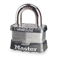MASTER LOCK 5  Padlock KD 1 In H 4 Pin Boron Alloy
