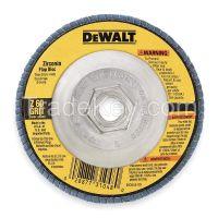 DEWALT  DW8312  Arbor Mount Flap Disc, 4-1/2in, 60, Coarse