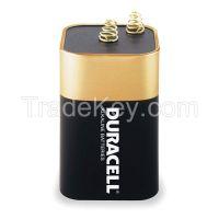 DURACELL MN908 Lantern Battery, Alkaline, 6V, Spring Term