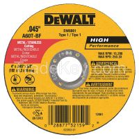 DEWALT Abrasive Cut-Off Wheel, 60G, 4 in. dia.