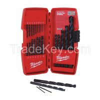 MILWAUKEE 48892801 Drill Bit Sets Blk Oxide 21Pc