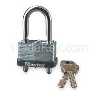MASTER LOCK 510KAD Padlock KA 5/8 to 2 In H Steel