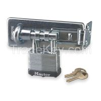 MASTER LOCK 475KA  Hasplock 4 Pin Tumbler Keyed Alike