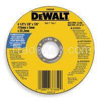 DEWALT  DW8080  Abrsv Cut Whl, 4-1/2 Dx0.093In T, 7/8In AH