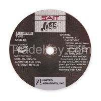 UNITED ABRASIVES-SAIT Abrasive Cut-Off Wheel, 4-1/2 in. dia.