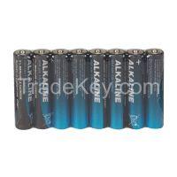 POWER FIRST 4TAE7 Battery Alkaline AAA 1.5V PK 8