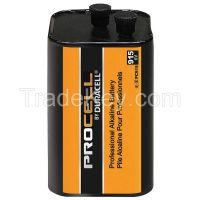 DURACELL PC915 Lantern Battery, Alkaline, 6V, Screw Term