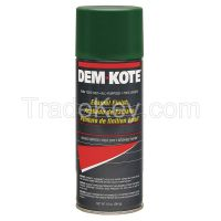 DEM-KOTE 6FGJ3 Spray Paint, Green, 10 oz.