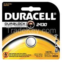 DURACELL  DL2430BPK   Coin Cell 2430 Lithium 3V
