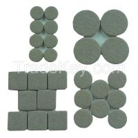 APPROVED VENDOR   GGS16598   Felt Pads Round 1-1/2 In. PK 8
