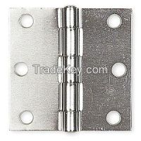 BATTALION 4PA63 Template Hinge Full Mortise 3 X 3 In