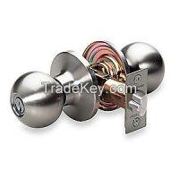 MASTER LOCK BAO0115KA4 Door Knob Lockset Ball Entrance