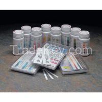 INDUSTRIAL TEST SYSTEMS  480022  Test Strips, Free Chlorine, 1-120ppm, PK50