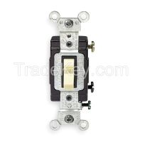 LEVITON CS1202I H6618 Wall Switch 1-Pole Toggle 20A Ivory