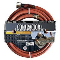 SWAN CSNFR58050 Water Hose Dual Rnfrcd Rubr/Rcycld PVC