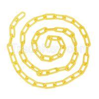 TOUGH GUY 2LEB3   Plastic Chain 20 ft Yellow