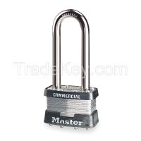 MASTER LOCK 1KALJ  Padlock KA 2-1/2 In H 4 Pin Steel