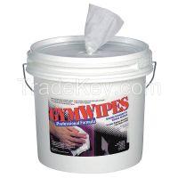 GYM WIPES 2XL-37 Gym Equipment Wipes, 8 x 7 In