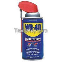 WD-40 110054 Lubricant, Aerosol w/Smart Straw, 8 oz
