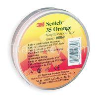 SCOTCH 3534X66ORNGE Electrical Tape 3/4 x 66 ft 7 mil Orange