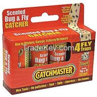 CATCHMASTER 9144M4 Fly Trap, 25 In. L, 1-1/2 In. W, PK4