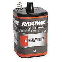 RAYOVAC   6V-HD  Lantern Battery, Heavy Dty, 6V, Spring Term