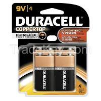 DURACELL MN16RT4Z Battery Alkaline 9V PK 4