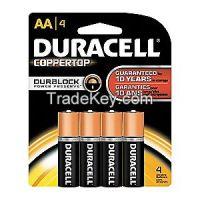 DURACELL  MN1500B4Z    Battery Alkaline AA PK 4