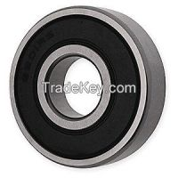 DAYTON  1ZGD7 Radial Bearing DBL Seal 0.7500 in Bore