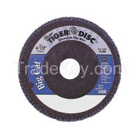 WEILER 50810 H7340 Arbor Mount Flap Disc 4-1/2in 80 Medium