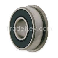 DAYTON 1ZGE6 Radial Bearing DBL Seal 0.2500 in Bore